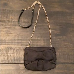 Kate Spade Black Bow Evening Bag